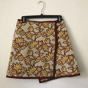 TOPSHOP Printed floral skirt